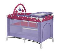 Детский менеж-кровать LORELLI PENNY 2 LAYER PLUS  (124х64х72 см)