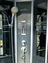 Гидромассажный бокс BADICO SAN 383S B 100х100х215 с мелким поддоном, фото 3