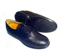 Мужские туфли черные супер комфортные Corona 42 размер
