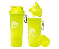 SmartShake Slim NEON Lime 500 ml