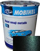 """363 Автоэмаль базовая """"металлик"""" Helios Mobihel """"Цунами"""", 1л"""
