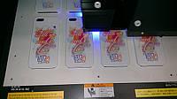 Прямая печать на чехлах для мобильных телефонов, полноцветная УФ печать.