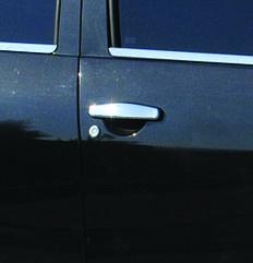 Накладки на ручки Dacia Sandero (4 шт. нерж.)
