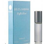 Масляный мини парфюм с феромонами для женщин Dolce & Gabbana Light Blue (Дольче Габбана Лайт Блю) 7 мл
