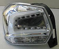 Subaru XV / Crosstrek оптика задняя светодиодная LED хром прозрачный