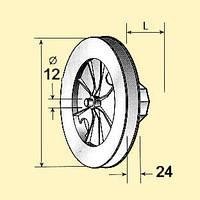 Колесо 195-60 для шнура защитных роллет
