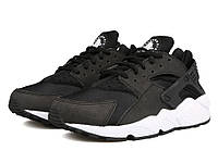 "Кроссовки Nike Huarache ""Black White "" (Копия ААА+), фото 1"