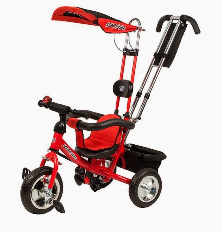 Велосипед Mars 3-х колесный Mini Trike LT950 красный