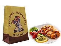 Бумажные пакеты крафт с логотипом