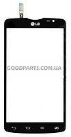 Сенсорный экран (тачскрин) для LG D380 Optimus L80 черный (Оригинал)