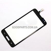 Сенсорный экран (тачскрин) для LG D405, D415 Optimus L90 черный high copy