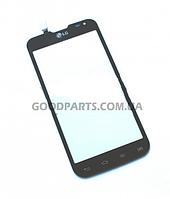 Сенсорный экран (тачскрин) для LG D410 Optimus L90 черный high copy