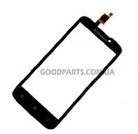 Сенсорный экран (тачскрин) для Lenovo A516 черный (Оригинал)