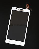 Сенсорный экран (тачскрин) для Lenovo A536 белый (Оригинал)
