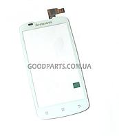 Сенсорный экран (тачскрин) для Lenovo A630 белый (Оригинал)