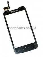 Сенсорный экран (тачскрин) для Lenovo A700 черный (Оригинал)