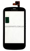 Сенсорный экран (тачскрин) для Lenovo A780 черный high copy