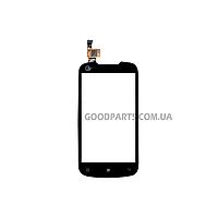 Сенсорный экран (тачскрин) для Lenovo A790e, A790 черный (Оригинал)
