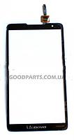 Сенсорный экран (тачскрин) для Lenovo A889 черный (Оригинал)