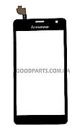 Сенсорный экран (тачскрин) для Lenovo K860 черный (Оригинал)