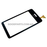Сенсорный экран (тачскрин) для LG GD510 черный high copy