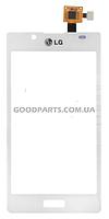 Сенсорный экран (тачскрин) для LG P705, P700 Optimus l7 белый high copy