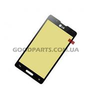 Сенсорный экран (тачскрин) для LG P713, P710 Optimus L7 II черный (Оригинал)