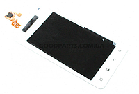 Сенсорный экран (тачскрин) для LG P725 Optimus 3D Max белый (Оригинал)