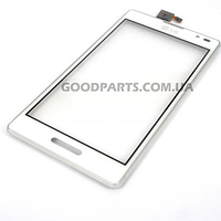 Сенсорный экран (тачскрин) для LG P760 Optimus L9, P765 Optimus L9, P768 белый high copy