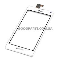 Сенсорный экран (тачскрин) для LG P760 Optimus L9, P765 Optimus L9, P768 белый (Оригинал)
