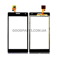 Сенсорный экран (тачскрин) для LG P880 Optimus 4X HD черный (Оригинал)
