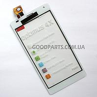 Сенсорный экран (тачскрин) для LG P880 Optimus 4X HD белый (Оригинал)