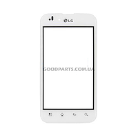 Сенсорный экран (тачскрин) для LG P970 Optimus белый high copy