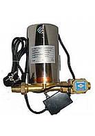 Насос для повышения давления  Cristal 15GRS-15 нерж.корпус + датчик протока