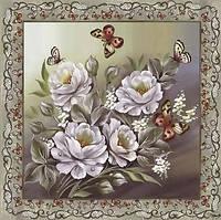 Коллекционная салфетка для декупажа Mamiko Yamashita Белые розы 5278