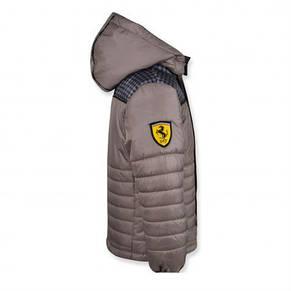 """Стильная качественная куртка """"Ferarry"""" (Серая ) на мальчика., фото 2"""