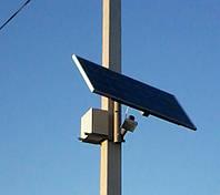 Светодиодный уличный фонарь 30 Вт с солнечной батареей LED