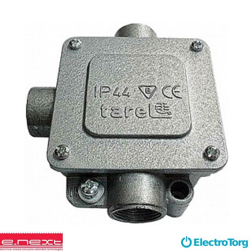 Коробка распределительная  металическая Р16/3, IP 44, 400 B, 5*6 (E-Next)