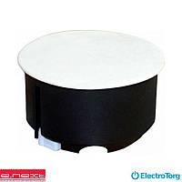 Коробка распред. e.db.stand.106.d80 гипсокартон, упор ПВХ. (E-Next)