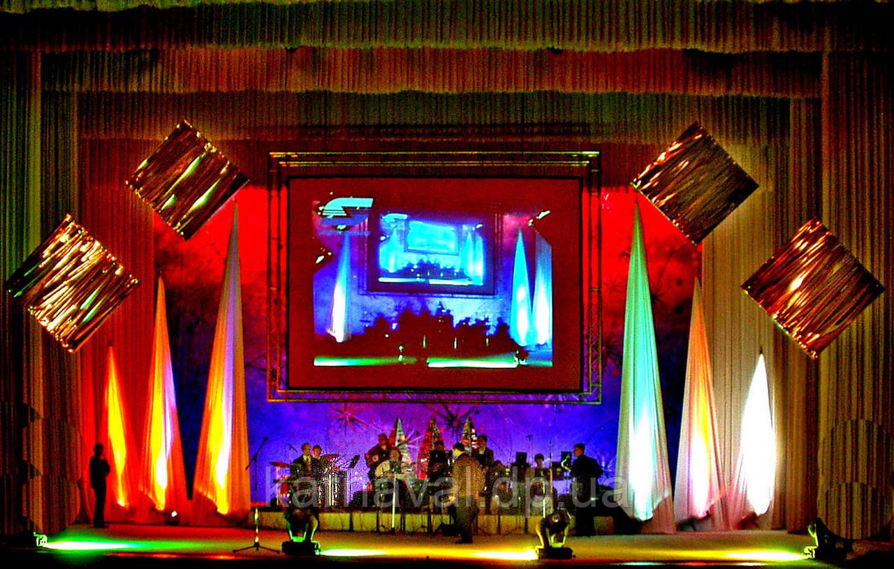Оформление концертной сцены