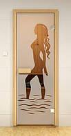 Стеклянная дверь для сауны и бани НАОМИ ALDO 690х1890 мм