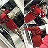 Облегающее платье с портупеей, фото 4