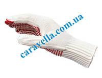 Усиленные вязаные перчатки с точечным виниловым покрытием L, код 0899400020