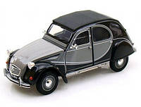 Автомодель (1:24) Citroen 2CV 6 Charleston grey-black