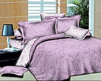 Полуторный комплект постельного белья Парча Фиолет
