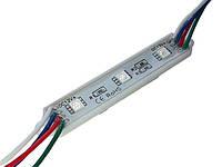 Светодиодный модуль RGB Lemanso 3528 3LED IP65 7000K / LR353