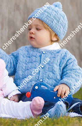 Нитки Alize Sekerim Bebe 40 голубой, фото 2