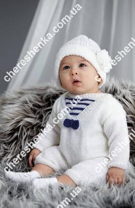 Нитки Alize Sekerim Bebe 55 белый, фото 2