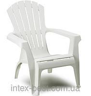 Пластиковое кресло Dolomiti белое