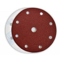 Круг абразивный с отверстиями 125 мм, 5 шт. №36, 40, 60, 100